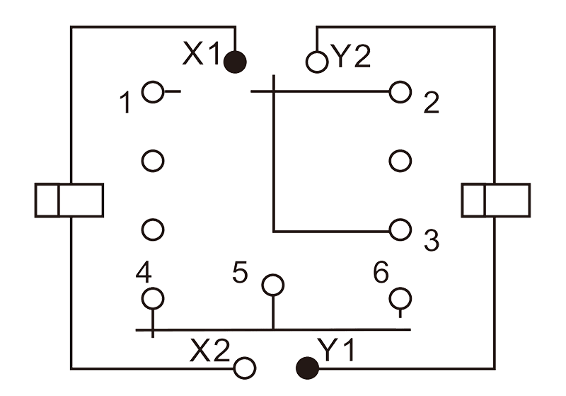 1JB6 1 Circuit Diagram - 1JB6-1 Miniature Magnetic Latching Relays