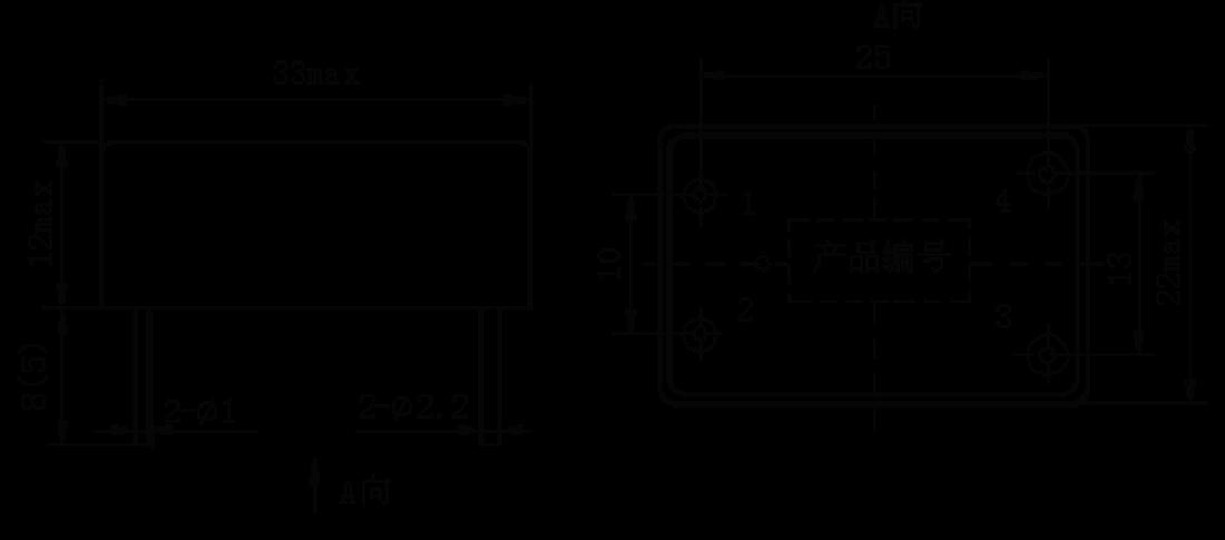 1JG15 1 Mechanical drawings - 1JG15-1 DC Solid State Relay