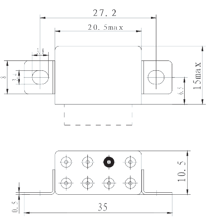 1JS51 1 Mechanical drawings 13 - 1JS51-1 Solid Time Delay Relay