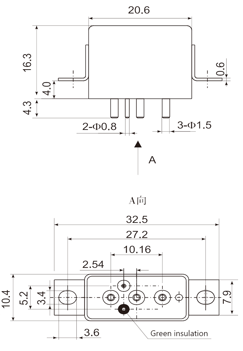 1jt10 1 Dimensions Mounting Style C 2 - 1JT10-1 Small General-Purpose Relay