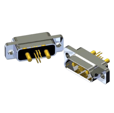 J30J High and Low Frequency Mixed Rectangular Connector