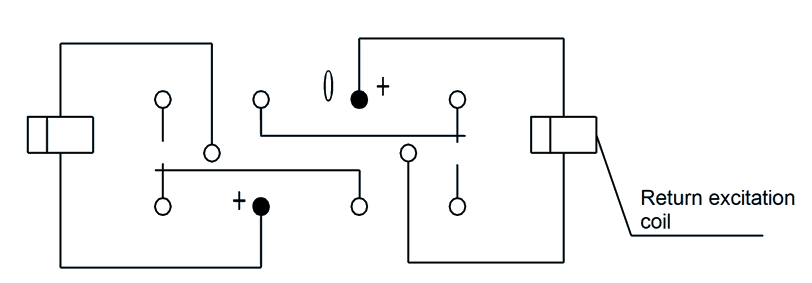 2JB2 1 Circuit Diagram - 2JB2-1 Magnetic Latching Relays