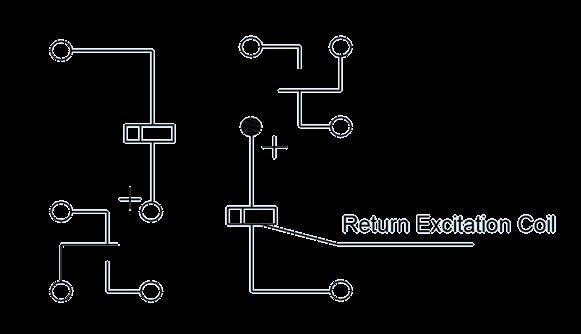 2JL0.5 1 Circuit Diagram 1 - 2JB0.5-1 Magnetic Latching Relays