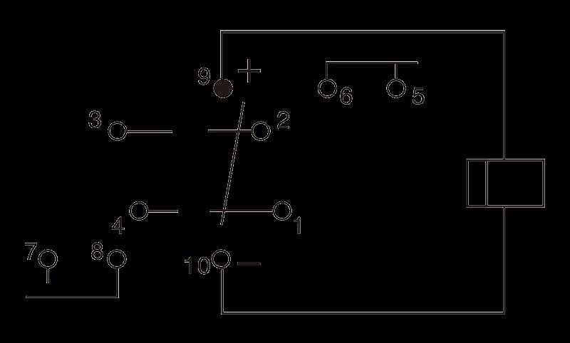 2JT80 1A Circuit Diagram - 2JT80-1A Small General-Purpose Relay