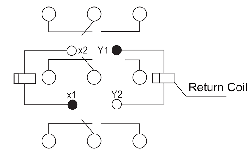 3JB10 1 Circuit Diagram - 3JB10-1 Sub-Miniature Magnetic Latching Relays