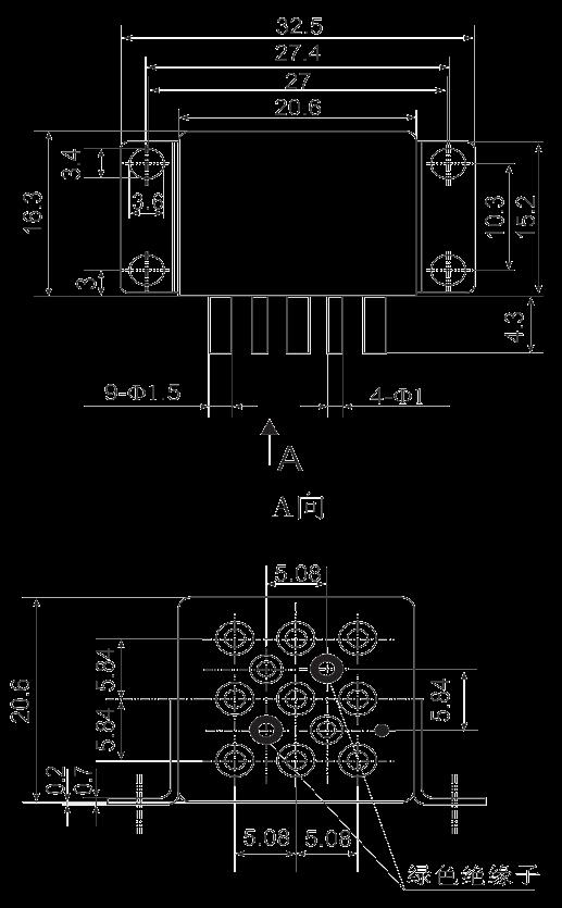 3JB10 1 Dimensions Mounting Style B3 - 3JB10-1 Sub-Miniature Magnetic Latching Relays
