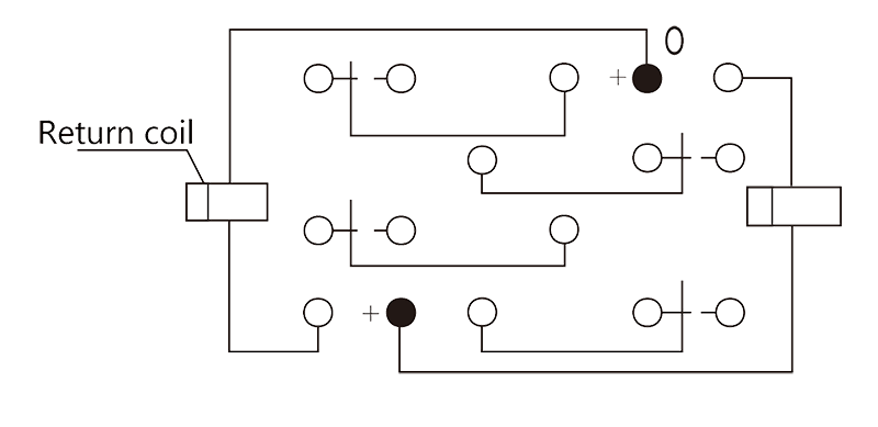 4JB5 2 Circuit Diagram - 4JB5-2 Miniature Magnetic Latching Relays