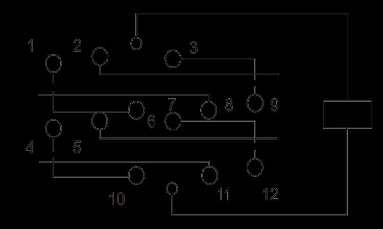 4JG 4A Circuit Diagram - 4JG-4A Small General-purpose Relay