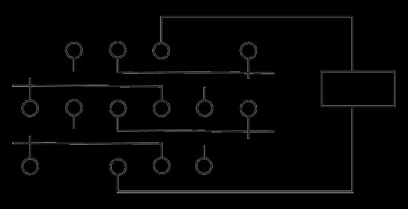 4JRXM 1 Circuit Diagram - 4JRXM-1 Small General-Purpose Relay