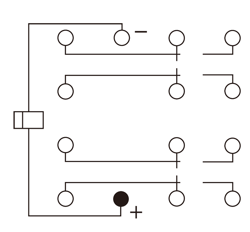 4JT5 3 Circuit Diagram - 4JT5-3 Small General-purpose Relay