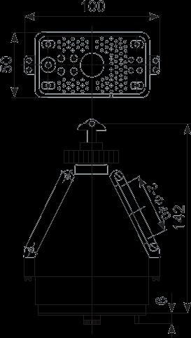 G103 plug Dimension - G103 Rectangular Connector