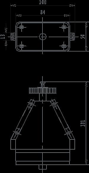 G103C plug Dimension - G103C Umbilical Connector
