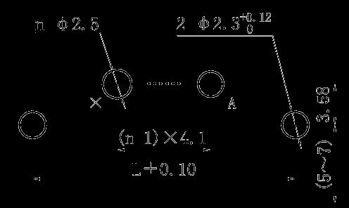 J30J 00P00 0S000 W1 000M 0 right angle PCB hole size