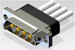 J30J 04P04 0 P 000 C0 000 M - J30J Large and Small Current Mixed Rectangular Marine-resistant Connector