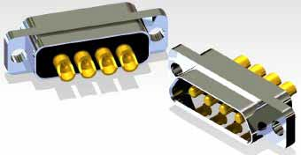 J30J 04P04 0 P 000 S0 000 M - J30J Large and Small Current Mixed Rectangular Marine-resistant Connector