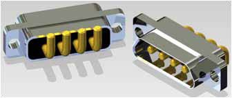 J30J 04P04 0 P 000 W1 000 M - J30J Large and Small Current Mixed Rectangular Marine-resistant Connector