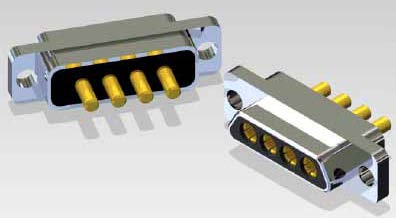 J30J 04P04 0 S 000 N1 000 M - J30J Large and Small Current Mixed Rectangular Marine-resistant Connector