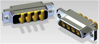 J30J 04P04 0 S 000 W1 000 M - J30J Large and Small Current Mixed Rectangular Marine-resistant Connector