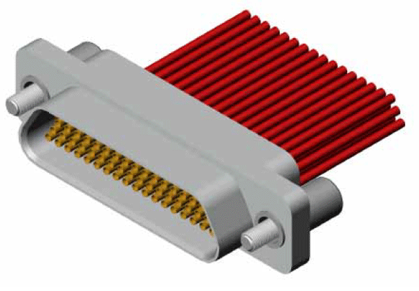 J30JL00 mounting - J30J Large and Small Current Mixed Rectangular Marine-resistant Connector