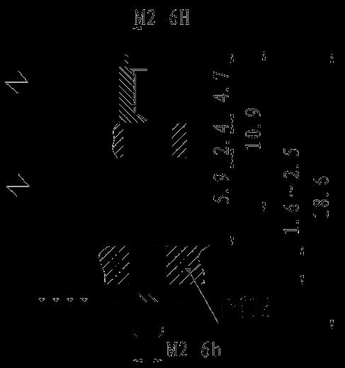 J30JP03 mounting dimension