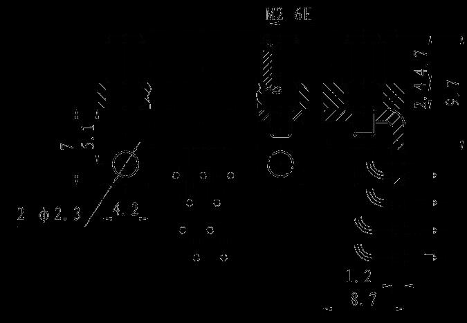 J30JP04 mounting dimension