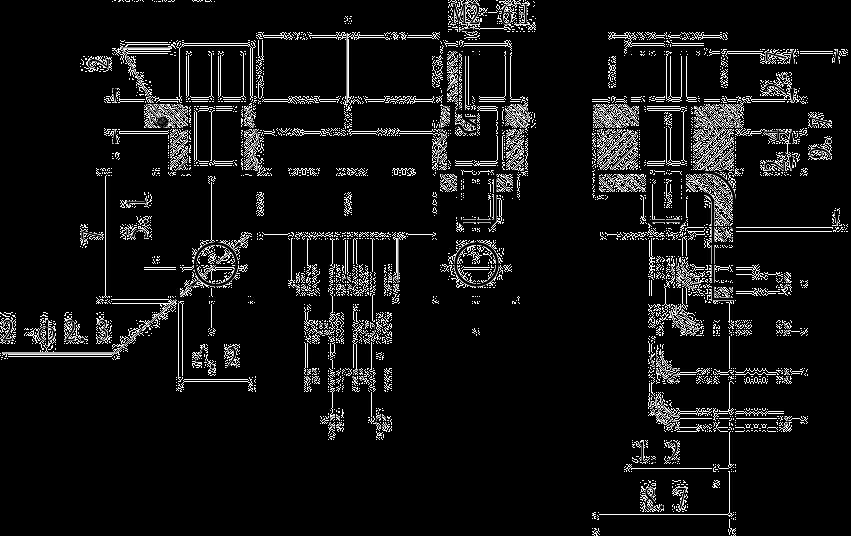 J30JP10 mounting dimension