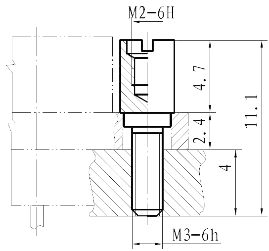 J30JP11 mounting dimension