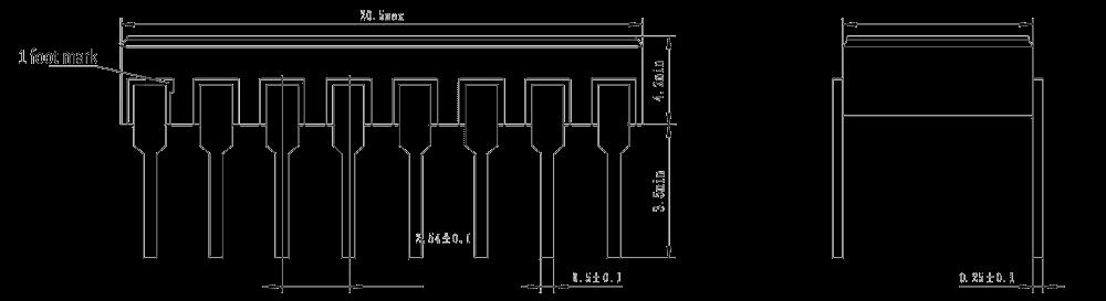 JGC 3031A Drawing - JGC-3031A Optical-MOS Relay