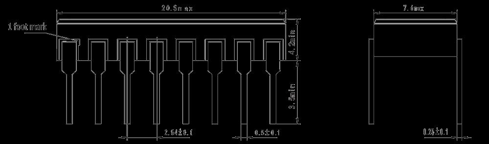 JGC 3032 Drawing - JGC-3032 Optical-MOS Relay