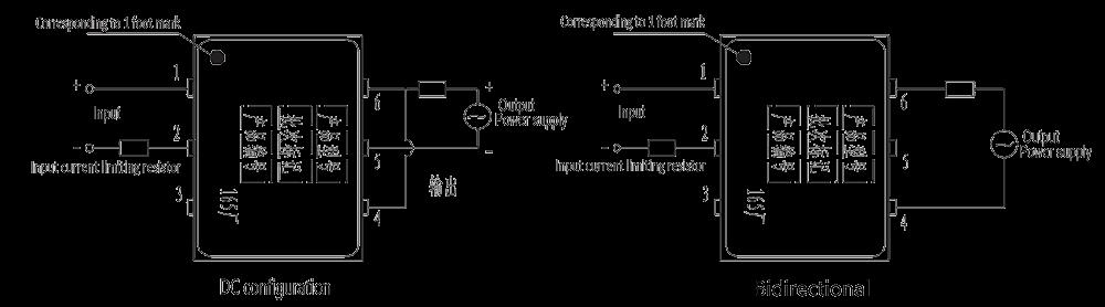JGW 3011 Overhead wiring diagram - JGW-3011 Optical-MOS Relay