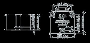 MNS300E Dimension 300x144 - MNS300E Attitude Determination Instrument