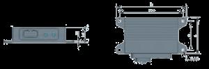 MNV420A Dimension 300x100 - MNV420A Integrated Navigation System