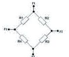 MPC F 5M 1.55 A Wheatstone Bridge - MPC-F-5M-1.55-A Pressure Sensor Chip