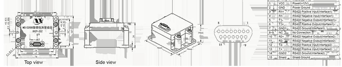 MSI3200 structure - MSI3200 MIMU