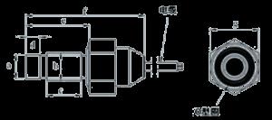MSP1030 Dimensions 300x133 - MSP1030 Piezoresistive Pressure Sensor