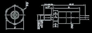 MSP1151 Dimensions 300x108 - MSP1151 Pressure Sensor