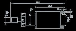 MSP1165 Dimensions 300x123 - MSP1165 Pressure Sensor