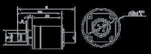 MSP2102 Dimensions 300x107 - MSP2102 Redundant Pressure Sensor