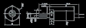 MSPT1151 Dimensions 300x100 - MSPT1151 Temperature and Pressure Sensor