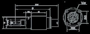 MSPT2201 Dimensions 300x115 - MSPT2201 Redundant Temperature and Pressure Sensor