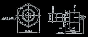 MST1034 Y01 Dimensions 300x129 - MST1034-Y01 Temperature Sensor
