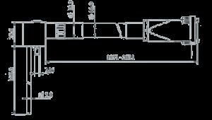MSVT1105A 100 Dimensions 300x170 - MSVT1105A-100 Temperature and Vibration Sensor