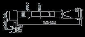 MSVT1106A 100 Dimensions 300x132 - MSVT1106A-100 Temperature and Vibration Sensor
