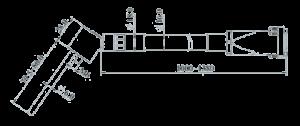 MSVT1204A 100 Dimensions 300x126 - MSVT1204A-100 Temperature and Vibration Sensor