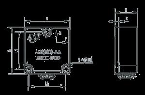 MTS2006 Dimension 300x196 - MTS2006 Dual-axis Inclinometer