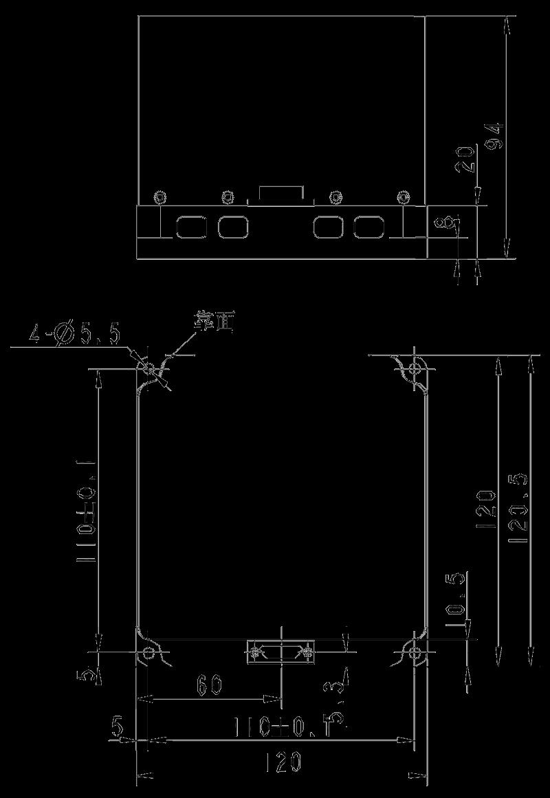 SD211 Mechanical Drawings - SD211 Medium Precision Optical Inertial Navigation System