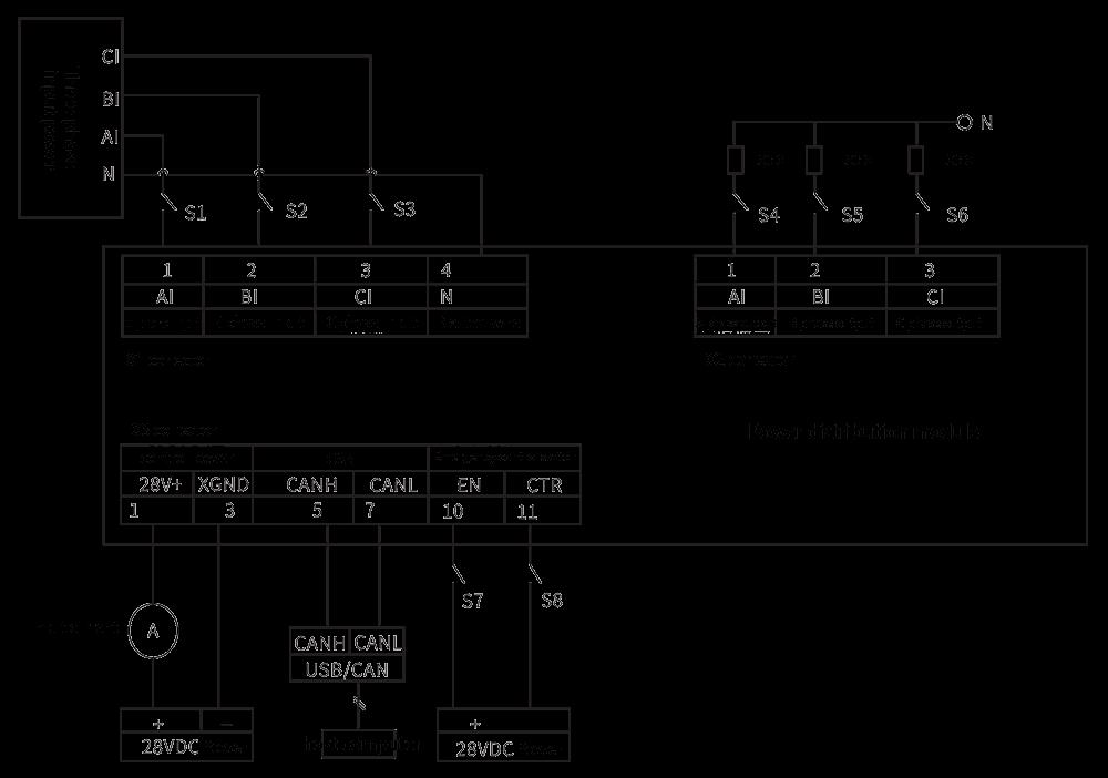 TZ380AC 100 Application instruction - TZ380AC-100 AC Intelligent Power Distribution Module