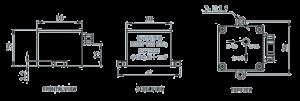 VS series Telemetry vibration Sensor Dimensions 300x101 - VS series Telemetry Vibration Sensor