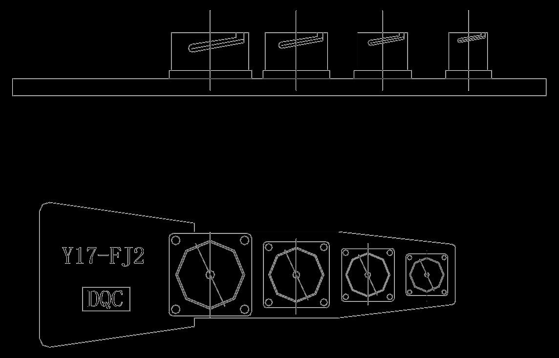 Y17 Socket holderY17 FJ2 - Y17 Series Circular Connector