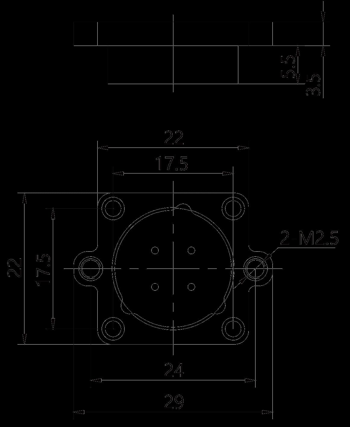 Y26H 4ZJBH socket Product drawing - Y26H Series Circular Connector
